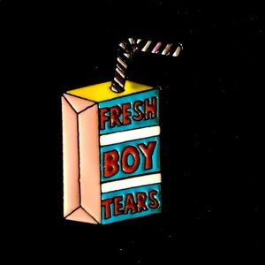 Jewelry - 🧃 Vintage Style Fresh Boy Tears 😭 🧃pin 🧷